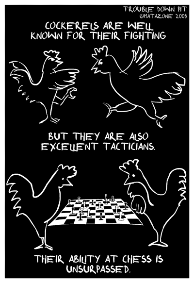 Chicken tactics