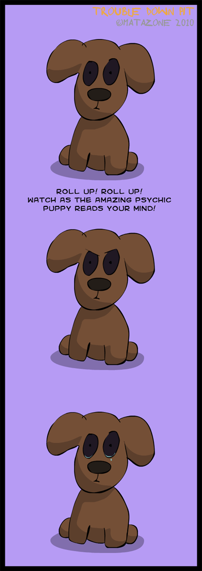 The Amazing Psychic Puppy