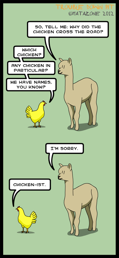Chicken politics
