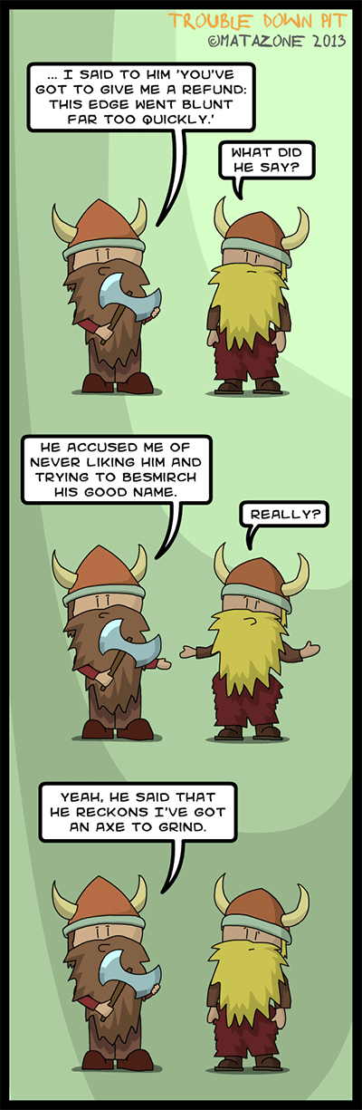 More Viking humour