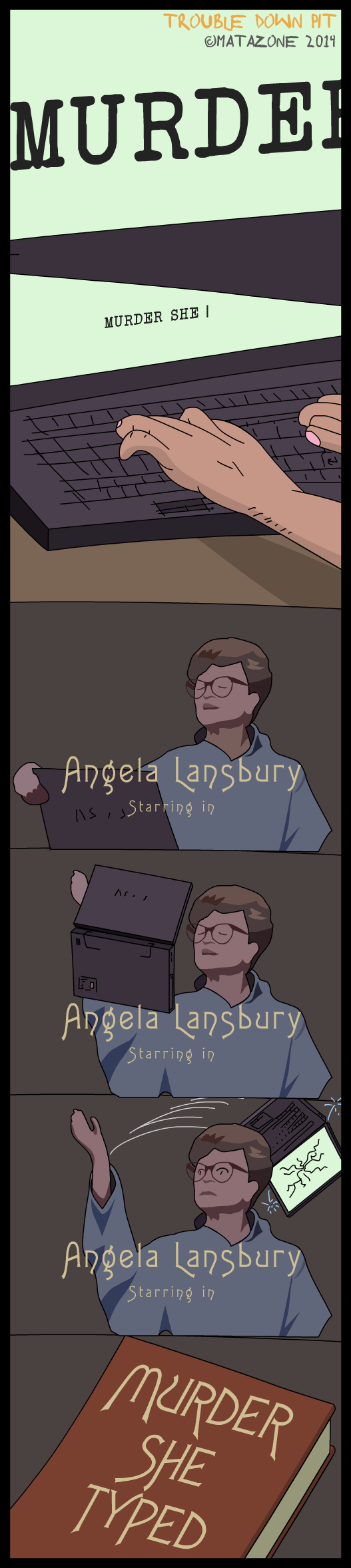 Angela Lansbury starring in…