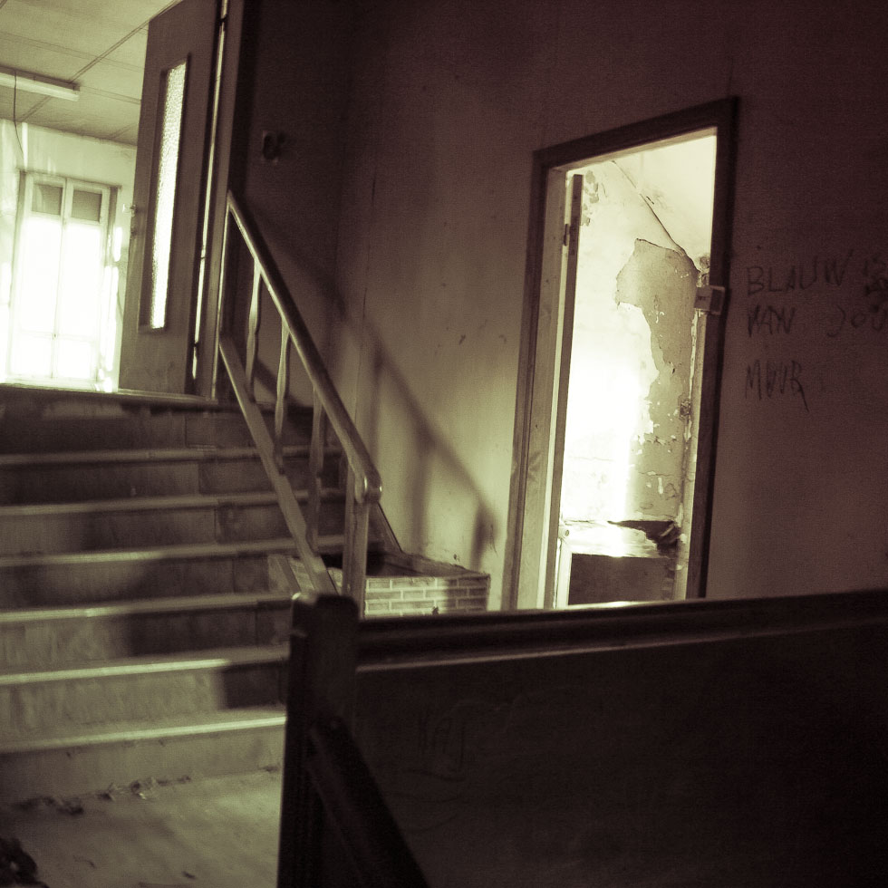 Photo: Abandoned staircase