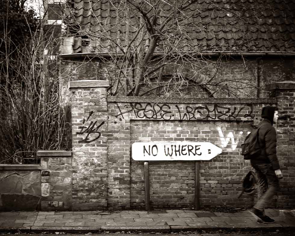 Photo: No Where
