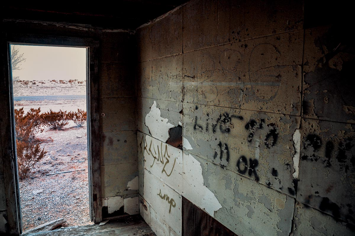 Photo: abandoned house near San Antonio, New Mexico part 3 of 3