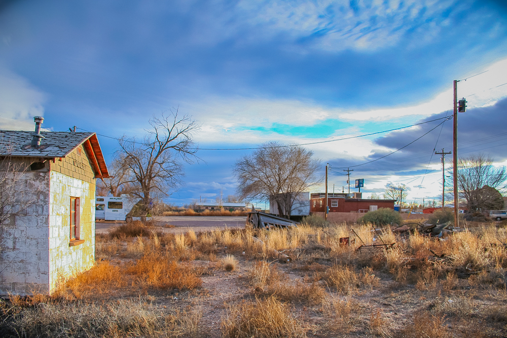 Photo: returning to nature, San Antontio, New Mexico